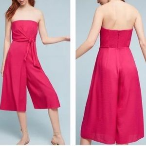 anthropologie MAEVE brin strapless jumpsuit 6
